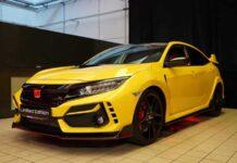 """Honda показала самую """"горячую"""" версию Civic Type R"""
