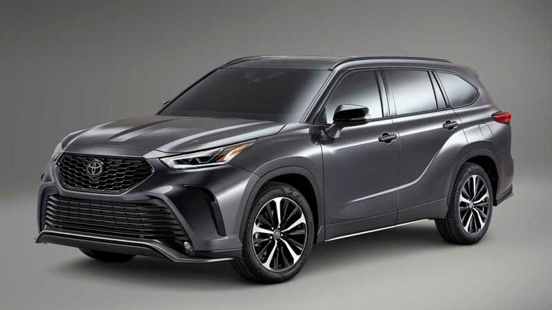 Toyota Highlander стал более спортивным