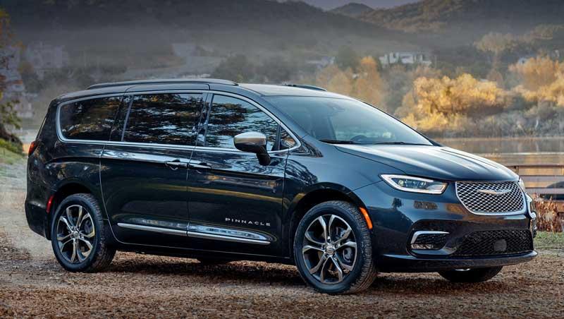 Минивэн Chrysler Pacifica стал полноприводным