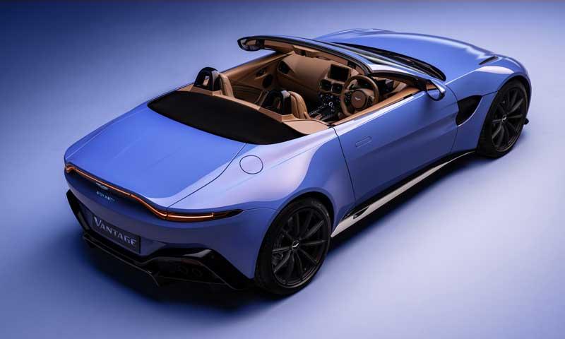 Aston Martin Vantage получил самую быструю в мире крышу