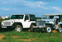 Jeep Wrangler Rubicon против Willys MB