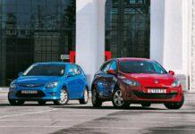 Hyundai i30 против Renault Megane