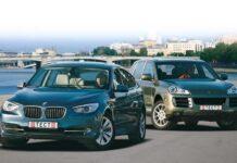 BMW 5 GT — Porsche Cayenne Diesel