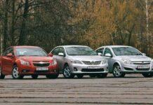 Chevrolet Cruze против Opel Astra против Toyota Corolla
