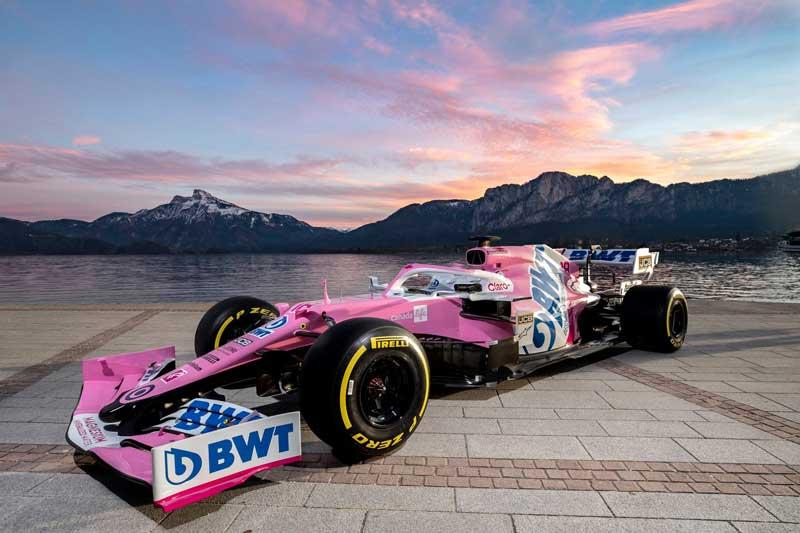 Racing Point показала свою последнюю машину Формулы-1