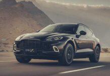 В Киеве показали первый кроссовер Aston Martin