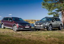 Subaru Outback против Volkswagen Passat Alltrack