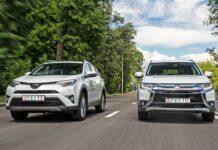 Mitsubishi Outlander против Toyota RAV4