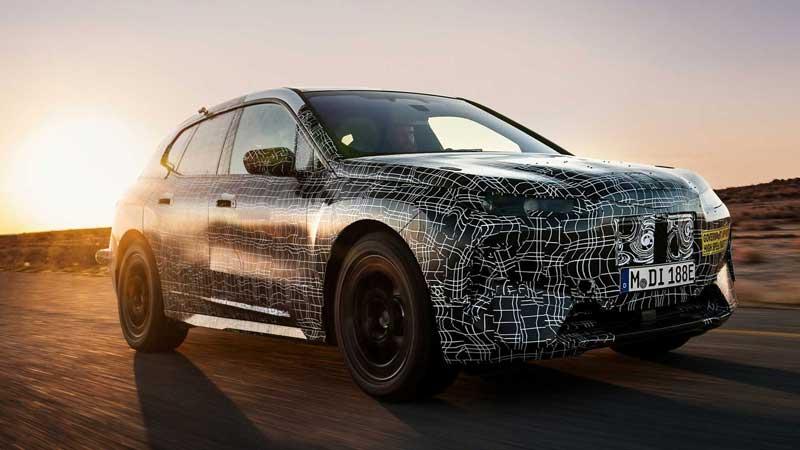 Кроссовер BMW iNext испытали в условиях экстремальной жары
