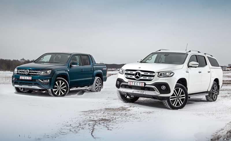 VW Amarok против Mercedes-Benz X-Class