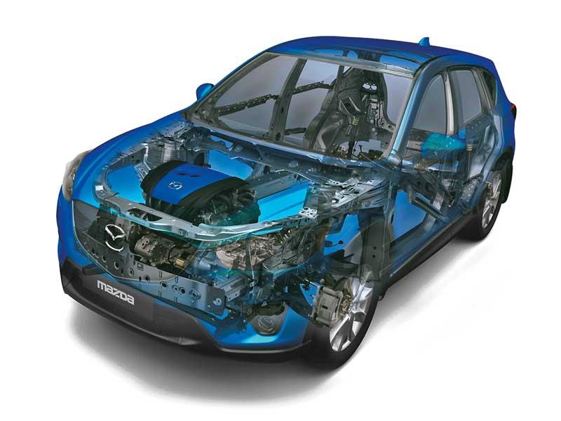 О том, как Mazda дотянулась до неба