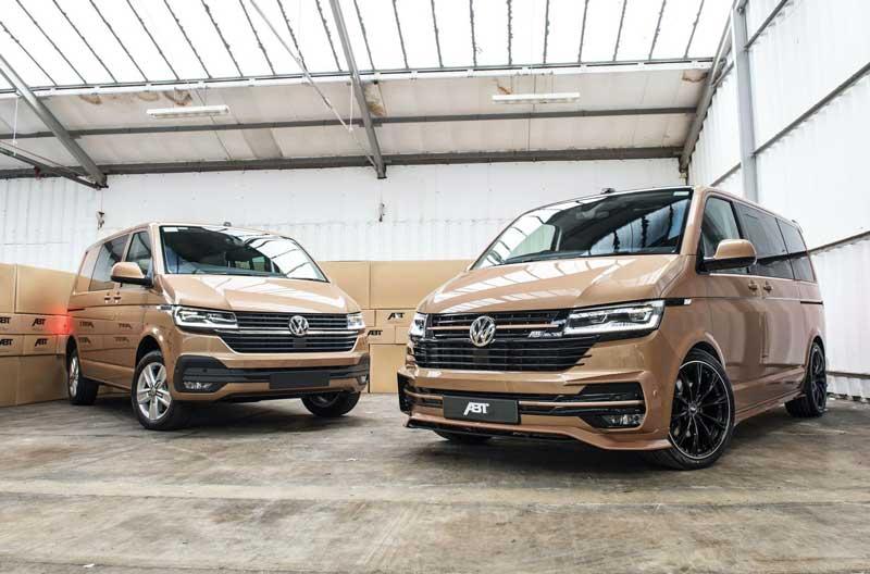 Из Volkswagen Multivan сделали спортивный минивэн