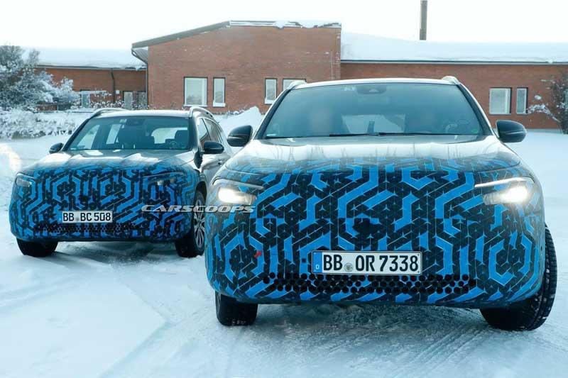 Mercedes-Benz тестирует два новых электромобиля
