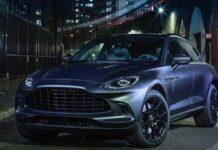 Aston Martin привезет в Женеву эксклюзивную версию DBX
