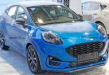 Спортивную версию Ford Puma заметили на зимних тестах