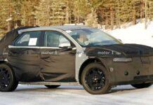 Hyundai тестирует новый электрический кроссовер