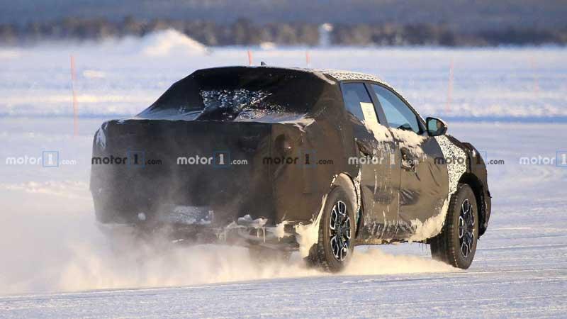 Новый пикап от Hyundai вывели на тесты (ФОТО)
