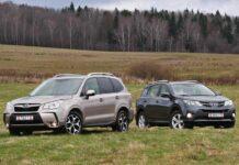 Subaru Forester — Toyota RAV4