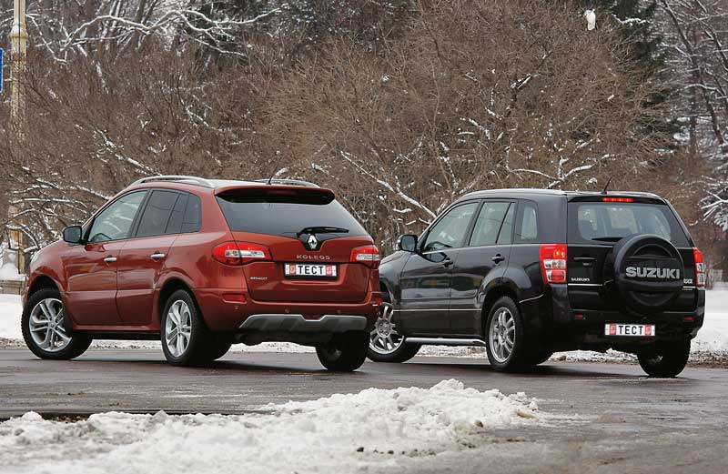 Renault Koleos против Suzuki Grand Vitara