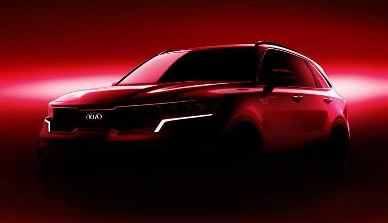 Новый Kia Sorento дебютирует на Женевском автосалоне