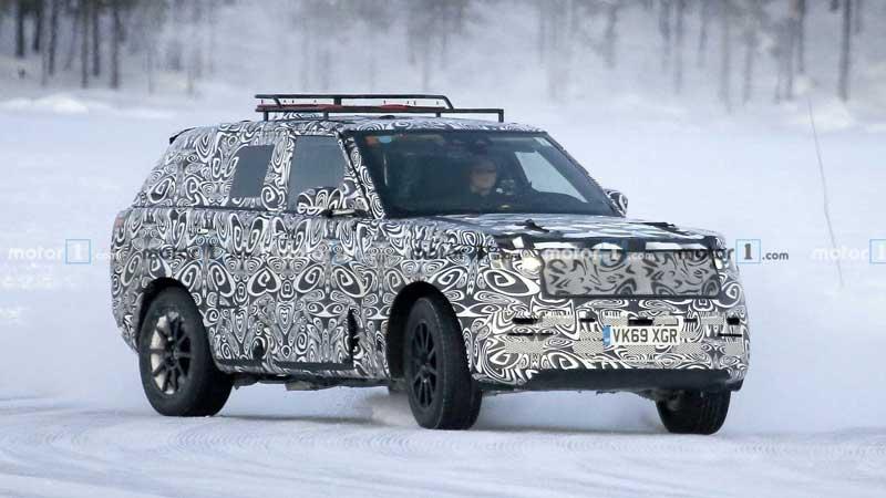 Range Rover Sport нового поколения заметили на зимних тестах