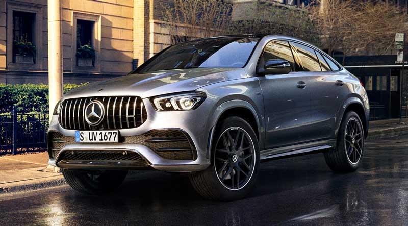 Новое поколение Mercedes-Benz GLE Coupé доступно к заказу в Украине