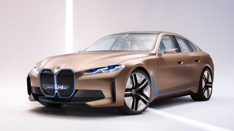 Электрический BMW i4 поступит в продажу в следующем году
