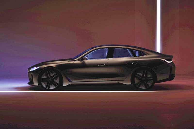 BMW показала внешность электроконцепта i4