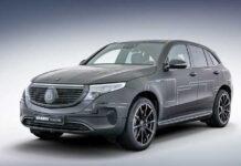 Brabus «зарядил» электрический Mercedes-Benz EQC