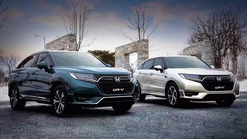 Honda обновила два кроссовера-близнеца