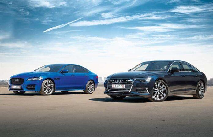 Audi A6 против Jaguar XF