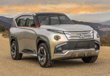 Mitsubishi Pajero лишится рамы и станет гибридом