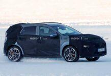 На тестах замечена спортивная версия Hyundai Kona