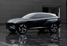 Прототип нового Hyundai Tucson сняли на видео
