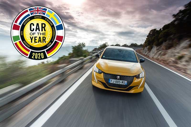 Peugeot 208 назван Автомобилем года 2020 в Европе
