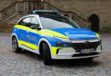 Немецкая полиция получила водородный Hyundai Nexo