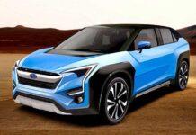 Первый электромобиль Subaru обрел название