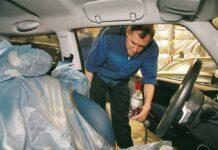 Как быстро привести в порядок салон автомобиля