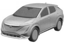 Nissan запатентовал изображения серийного электрокроссовера