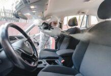 В Киеве можно бесплатно продезинфицировать автомобиль