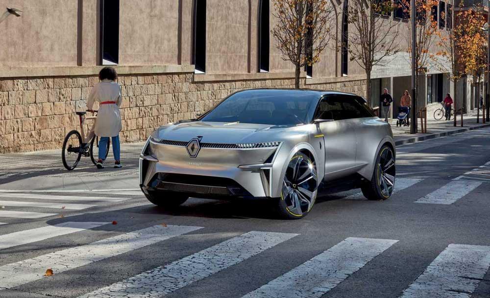 Новый электрокар Renault проедет 600 км без подзарядки