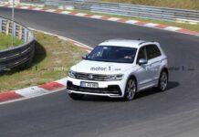 Volkswagen Tiguan R штурмует Нюрбургринг