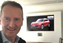 """Глава Volkswagen """"случайно"""" показал дизайн нового кроссовера"""