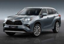 Toyota представила европейскую версию нового Highlander