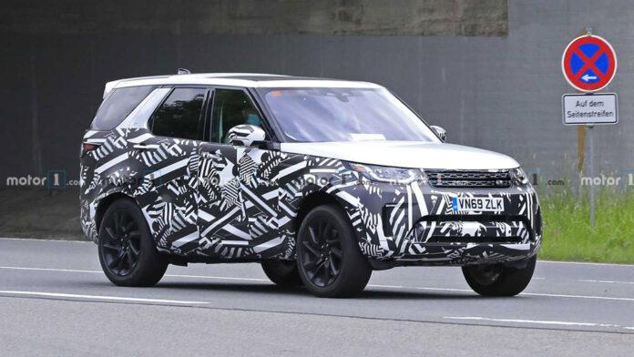 Обновленный Land Rover Discovery вышел на испытания