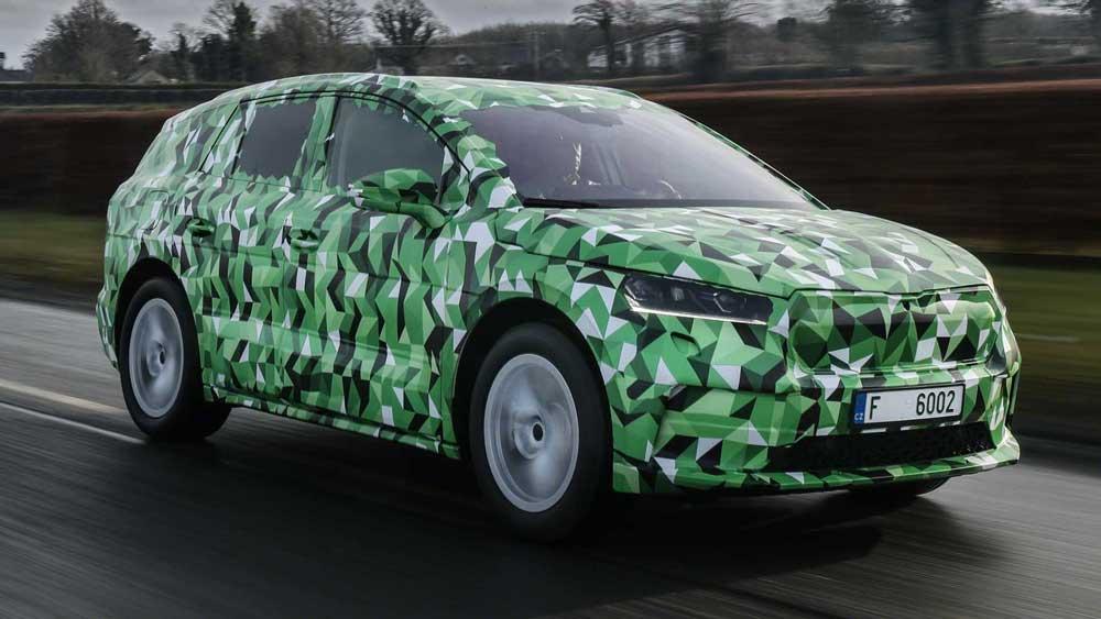 Электрический Skoda Enyaq iV станет самым мощным автомобилем марки