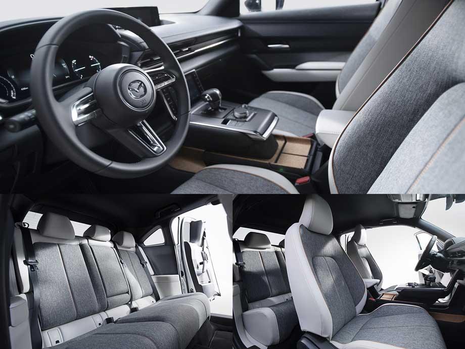 Интерьер Mazda MX-30