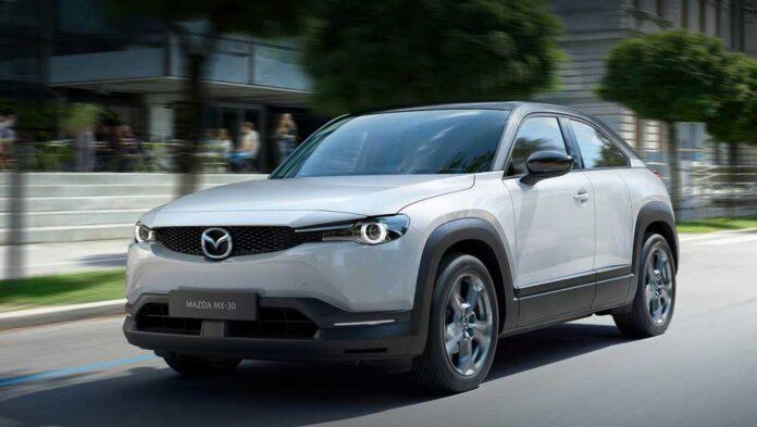 Mazda начала производство электрокроссовера MX-30