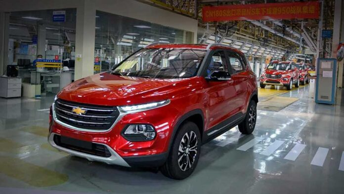 Chevrolet скопировал китайский кроссовер
