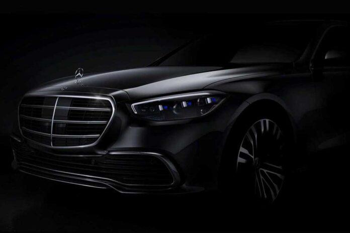 Новый Mercedes S-класса. Первое официальное фото